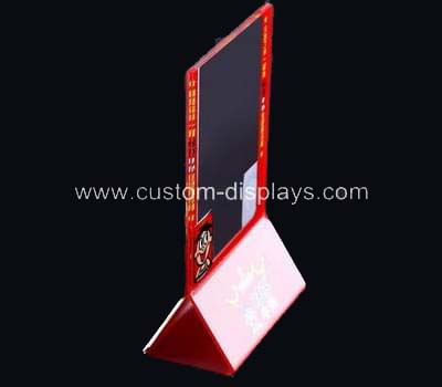 CAS-056-3 Color printed acrylic sign holder