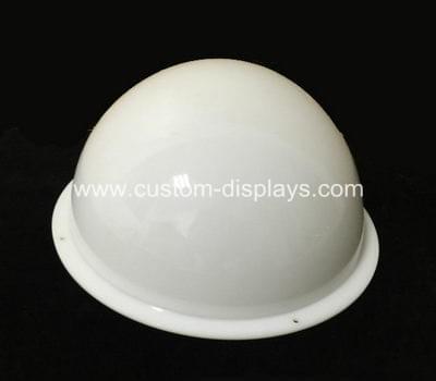 Custom acrylic hemisphere