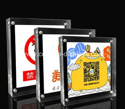 Clear acrylic frames