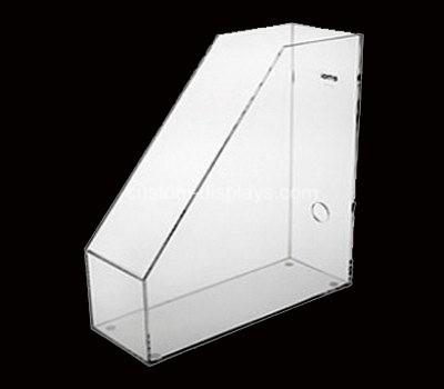 Clear file folder holder