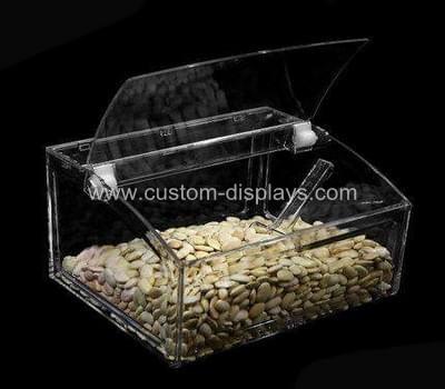 Acrylic bulk food bins