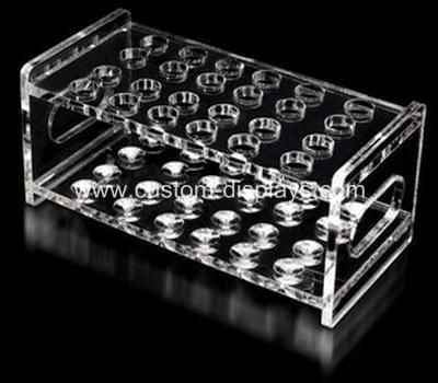 Acrylic test tube rack