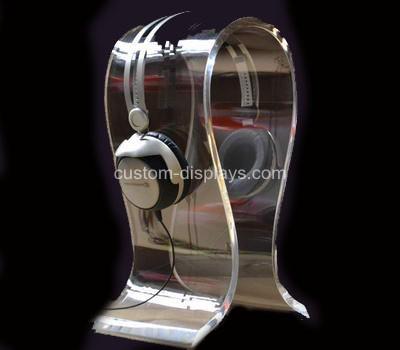 Acrylic headphone stand