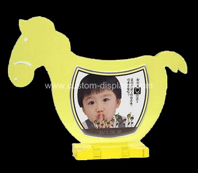 Horse shaped picture frame