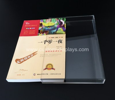 Acrylic book slipcase