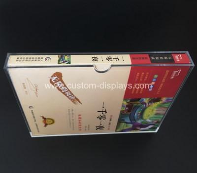 Acrylic book slipcase cab-057-3