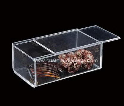 Clear acrylic slide box
