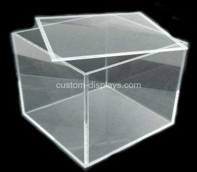 Acrylic cube box with lid