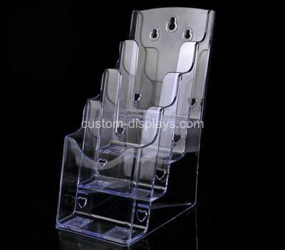 4 tier acrylic brochure holder