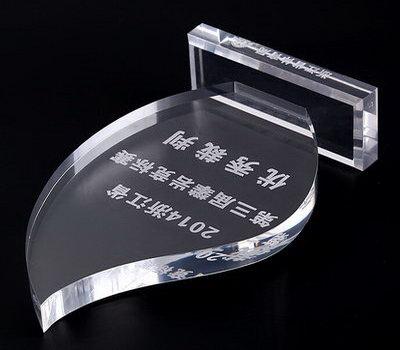 Custom acrylic trophies 2