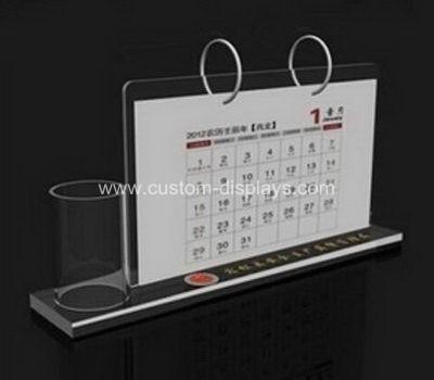 Acrylic table calendar
