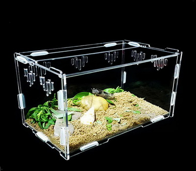 Acrylic reptile cages