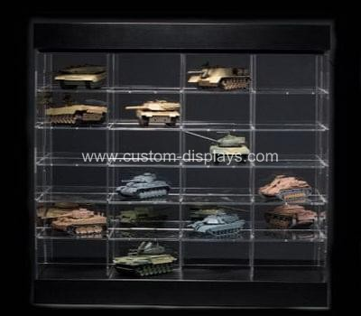 Acrylic display cases for collectibles
