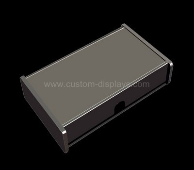 CAB-070-1 Black acrylic boxes with lids