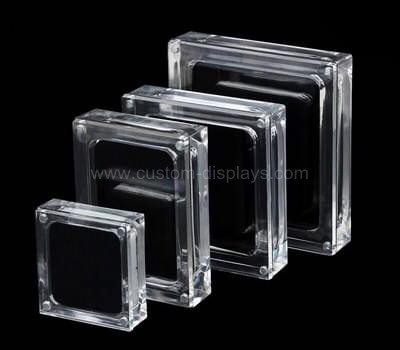 CAB-073 Acrylic box with magnetic lid