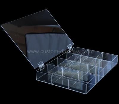 Acrylic Compartment Storage Box