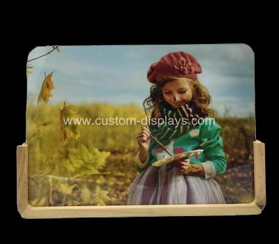 Wood acrylic photo frames