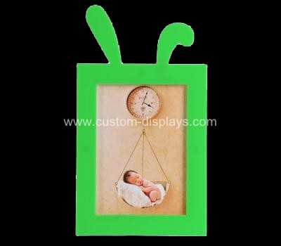 Rabbit ear acrylic photo frame