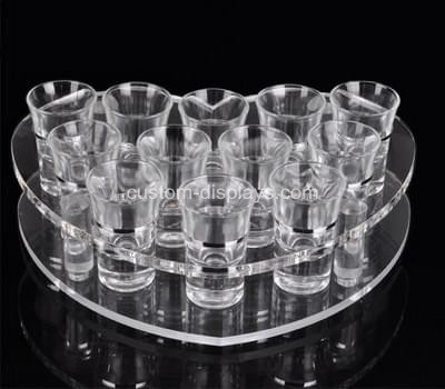 Shot glass holder tray
