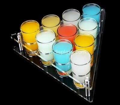 Shot glass serving tray