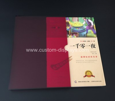 Acrylic book slip case manufacturers