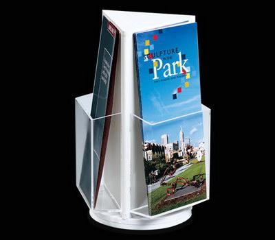 Rotating brochure stand