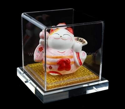 Clear acrylic box display cases