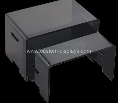 Black acrylic nest of tables