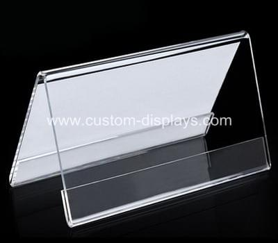 Acrylic tent card holder
