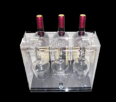 Acrylic liquor display