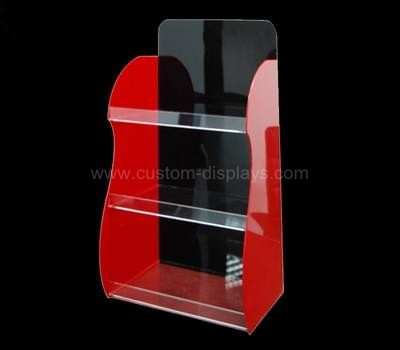 Acrylic cosmetic display shelf
