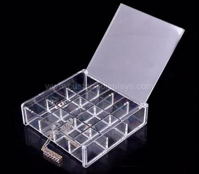 Plexiglass box with lid