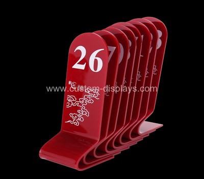 CAS-069-1 Table number signs