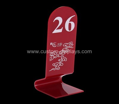 CAS-069-2 Table number signs
