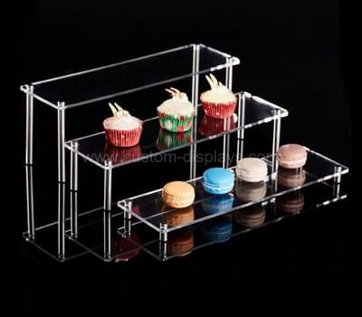 Clear plastic cupcake stand
