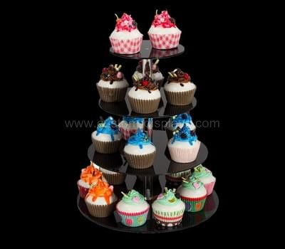 4 tier acrylic cupcake stand
