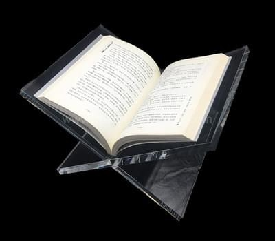 Acrylic open book holder