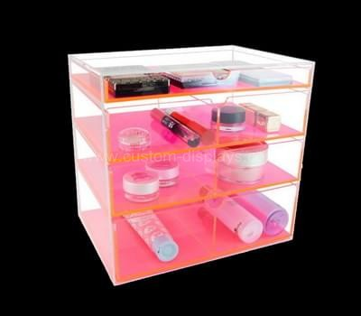 CAB-082-1 Acrylic drawer box with colored dividers