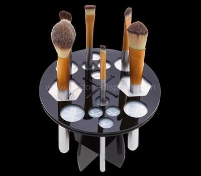 Cosmetic brush display stand