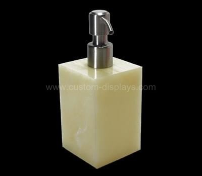 Acrylic lotion bottles