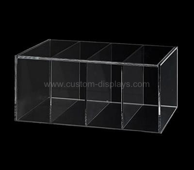 Custom acrylic box with dividers