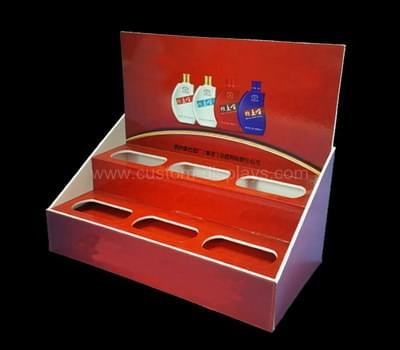 Plastic cosmetic displays