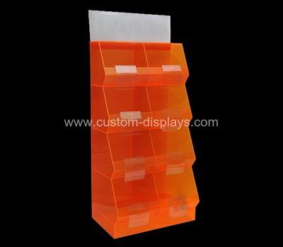 Custom made acrylic display rack