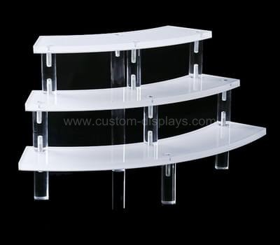 3 tier acrylic display stand