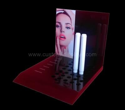 Retail makeup display stand