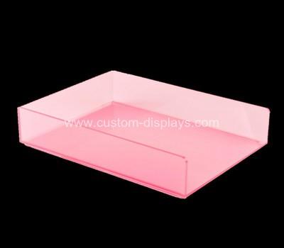 Acrylic file tray