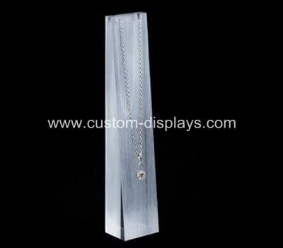 Acrylic necklace display stands
