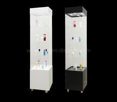 Clear display cabinet