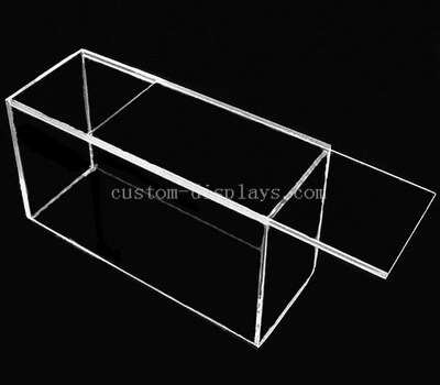 Acrylic sliding lid box