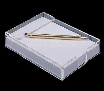 Acrylic notepad holder